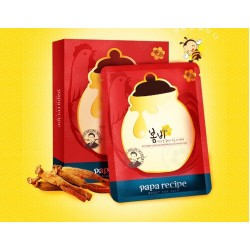 KOREA Papa Recipe Bombee Ginseng Red Honey Oil Mask 10 pcs - 70% Discount  - Expired Date: 2019 September