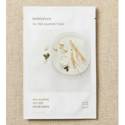 Innisfree It's Real Squeeze Ginseng Mask 10 sheets - 55% Discount - Last Set in Stocks