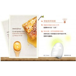 Innisfree It's Real Squeeze Mask Manuka Honey 10 sheets - 55% Discount