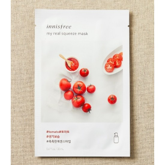 Innisfree My Real Squeeze Tomato Mask 10 sheets - 55% Discount