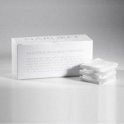NARUKO Facial White Illuminating Cotton Pads 60 pcs